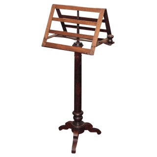 Fine French Music Stand for Two For Sale
