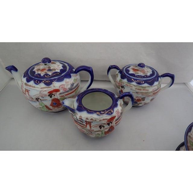 Antique Japanese Tea Set For Sale - Image 4 of 11