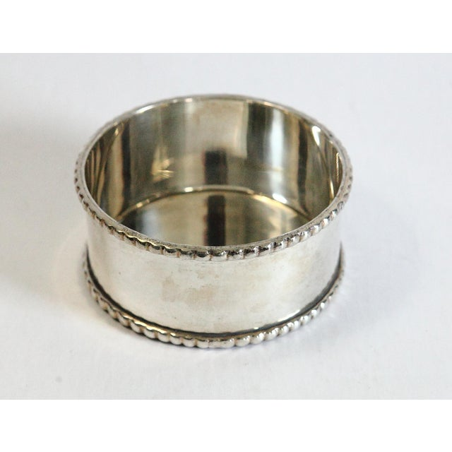 Late 20th Century Late 20th Century Silver-Plated Wine Coaster For Sale - Image 5 of 5