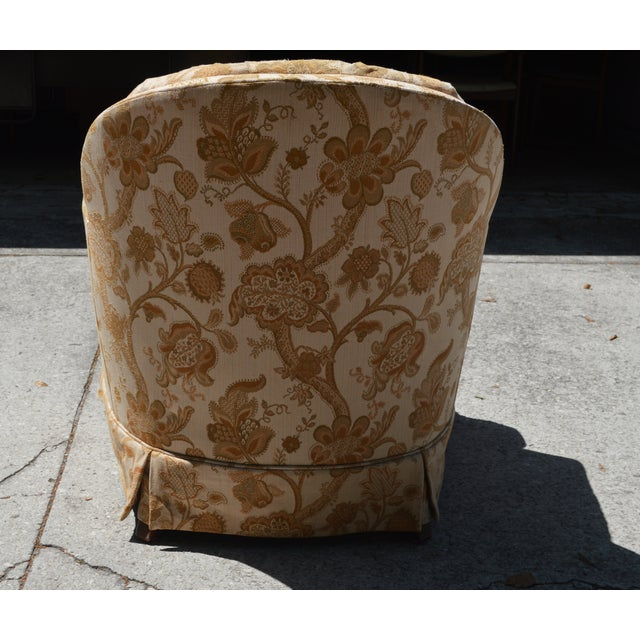 Woodmark Originals Tree of Life Barrel Back Chair - Image 3 of 9
