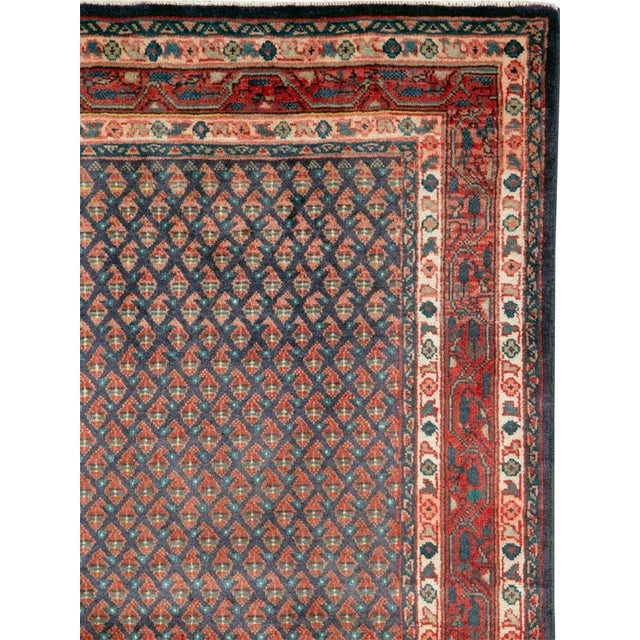 "Islamic Vintage Persian Malayer Rug – Size: 3'4"" X 5' 1"" For Sale - Image 3 of 10"