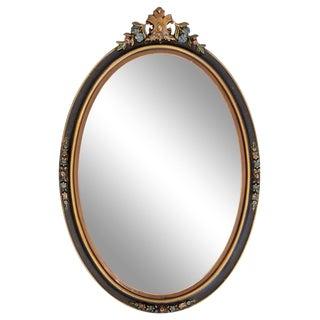 1920s Gustavian Oval Mirror