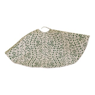 Brunschwig and Fils Les Touches Animal Print Christmas Tree Skirt For Sale