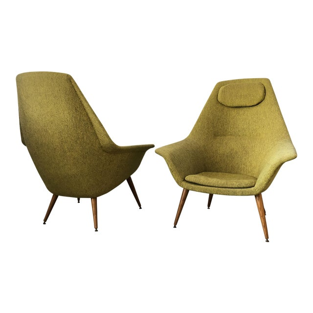 Torbjorn Adfal Butterfly Chairs, a Pair For Sale