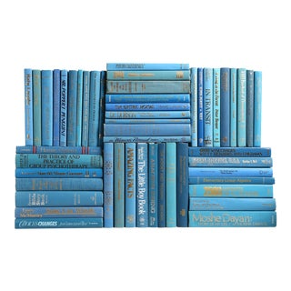Retro Ocean Book Wall, S/50 For Sale