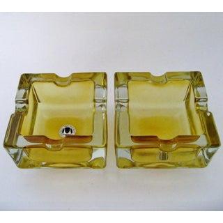 Vintage German Glass Ashtrays - A Pair Preview