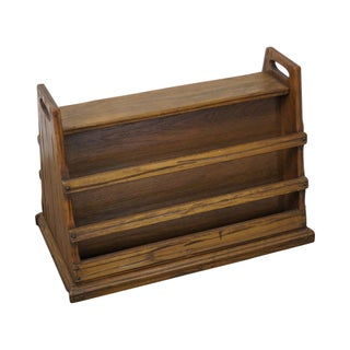 Brandt Ranch Oak Magazine Stand For Sale