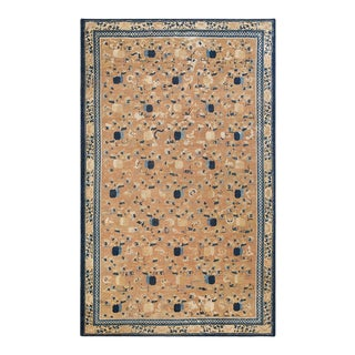 """Antique Chinese - Ningxia Rug 7'9""""x12'6"""" For Sale"""