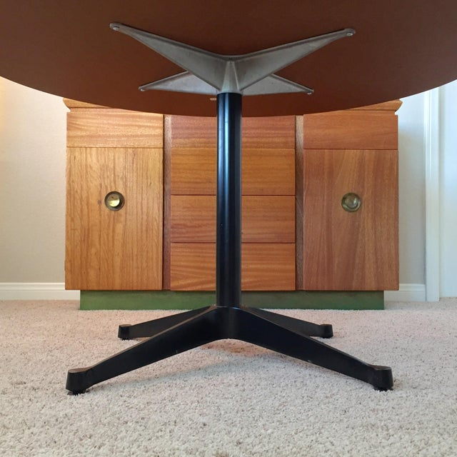 Eames for Herman Miller Contract Base Dining Table For Sale In San Diego - Image 6 of 9