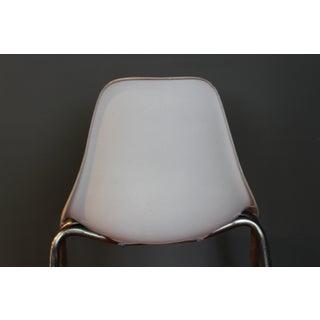 Mid-Century Modern Herman Miller Eames Style White Fiberglass Chair Preview