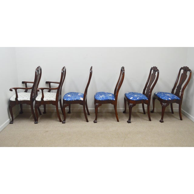 Councill Set of 6 Mahogany Dining Chairs For Sale - Image 12 of 13