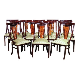 12 Adams Style Dining Chairs