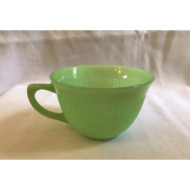 Jadeite Fire King Anchor Hocking Cup & Saucer Set - Image 3 of 9