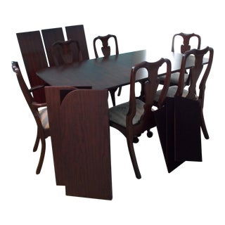 Henkel Harris Mahogany Dining Table & Chairs