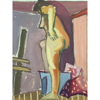 "1940s-50s Female Nude Painting Bay Area Figurative Movement ""Backside"" For Sale"