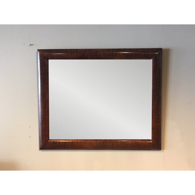Wood American Empire Wall Mirror For Sale - Image 7 of 7