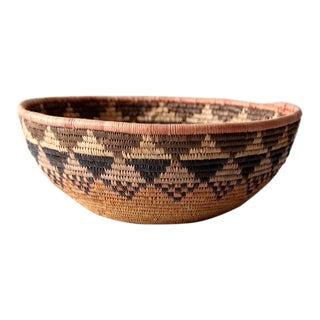 Vintage Native American Basket For Sale