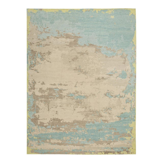 Earth Elements - Customizable Spearmint Rug (12x15) For Sale