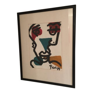 Peter Keil 1977 Modernist Face Painting