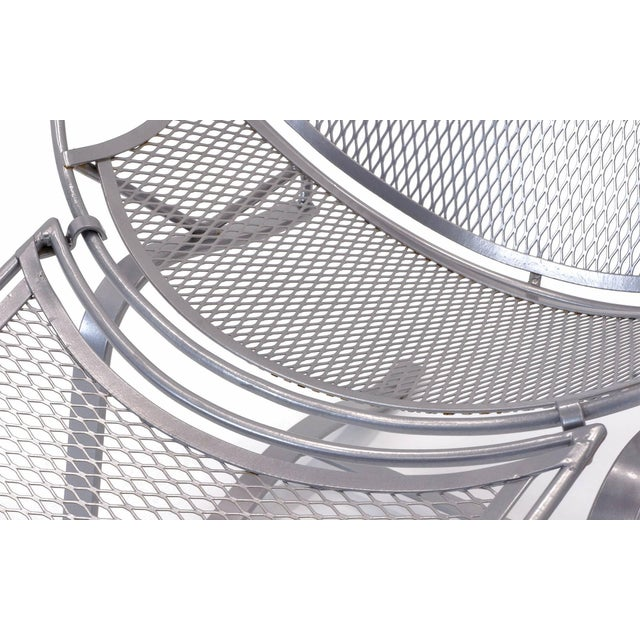 John Salterini High Back Patio Lounge Chairs With Footrests - a Pair For Sale - Image 9 of 11