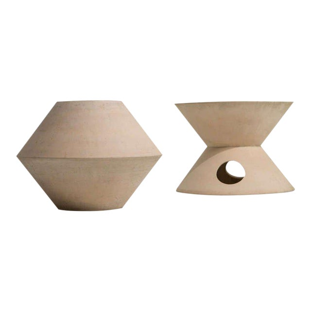PAIR OF LA GARDO TACKETT PLANTERS FOR ARCHITECTURAL POTTERY, 1960S - Image 1 of 9