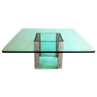 Waterfall Cocktail Table by Leon Rosen for Pace For Sale