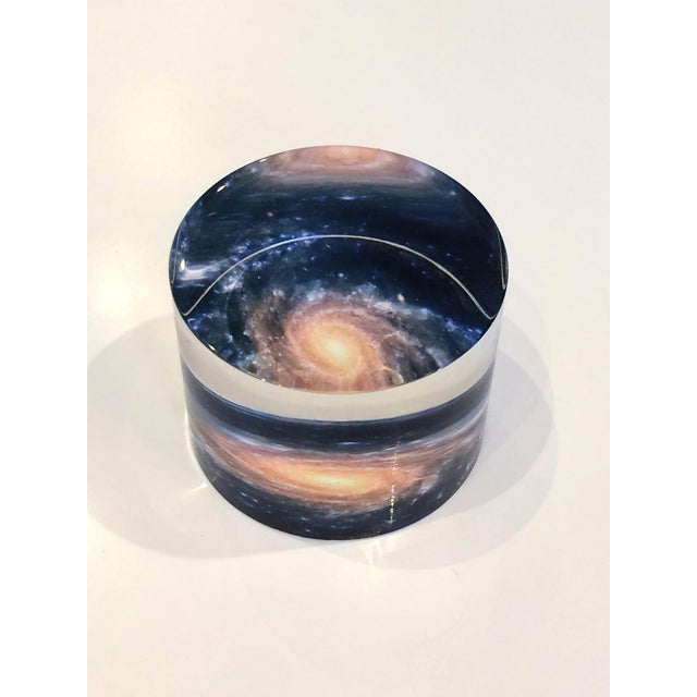 Lucite desk accessories, such as paperweights is a perfect gift for anybody.