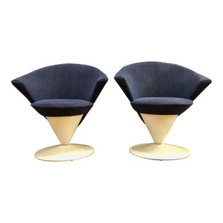 Mid Century Modern Adrian Pearsall Cone Chairs for Craft Associates - a Pair For Sale
