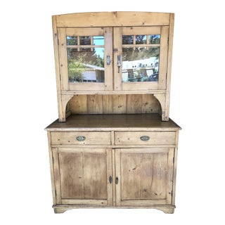Antique Hungarian Pine Cabinet For Sale