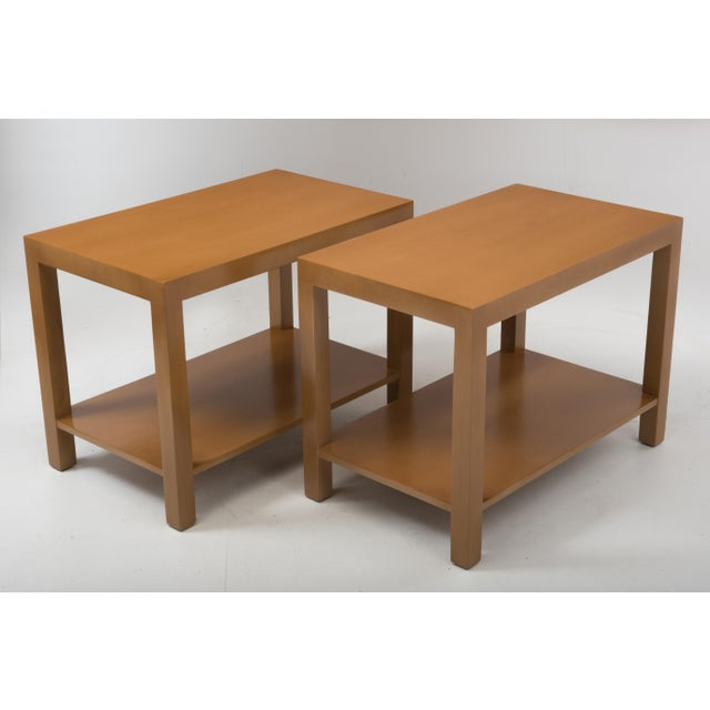 T.H. Robsjohn Gibbings Widdicomb Parsons End Tables - a Pair 1949 For Sale - Image 13 of 13