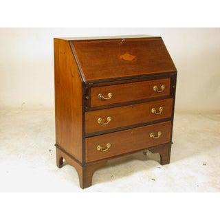 19th Century English Traditional Slant Lid Secretary Desk Preview