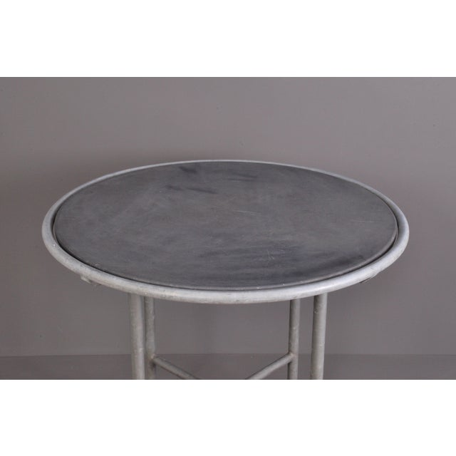 Blue Stone , Indoor/ Outdoor Table Switzerland Circa 1950 For Sale - Image 4 of 9