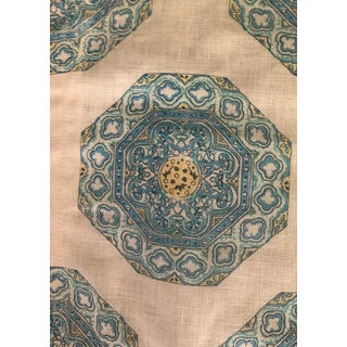 Anglo-Indian Quadrille Fabric For Sale