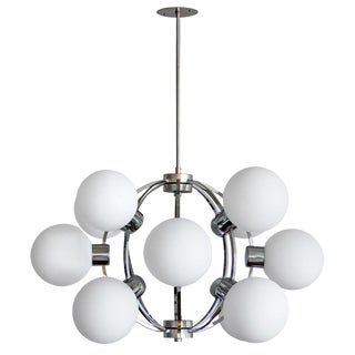 1970s German XL-Atomic Chandelier For Sale