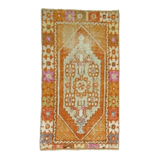 Boho Vintage Anatolian Rug, 2'5'' X 4'2'' For Sale