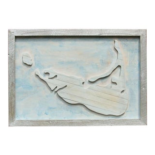 Nantucket Reclaimed Wood Handcrafted Wall Art For Sale