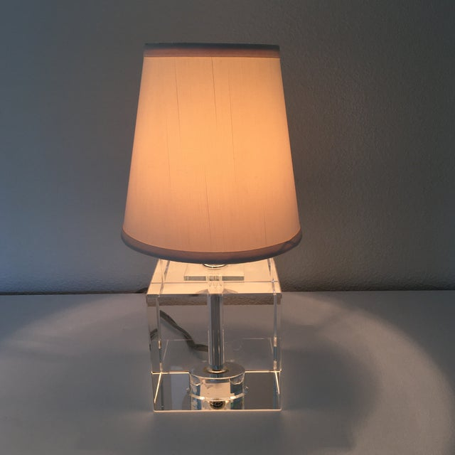 Small lamps are great to use anywhere. Use on a small table or in a bathroom on the vanity. Also great to light up a shelf...