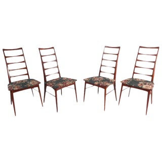 Niels Koefoed for Raymor Ladder Back Dining Chairs - Set of 4 For Sale