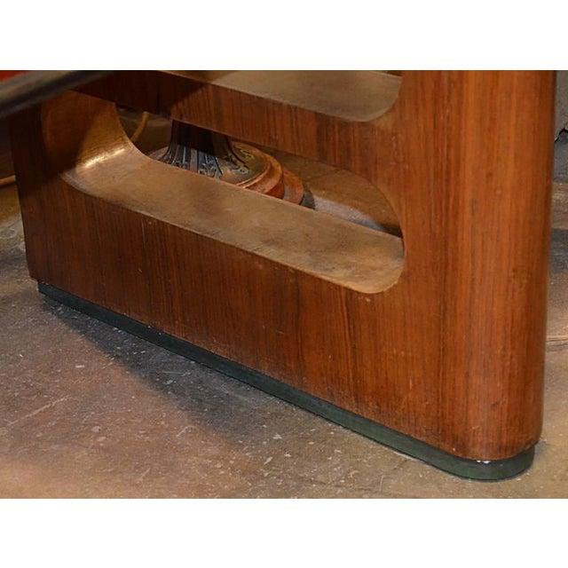 Gold 1940s Art Deco Italian Wood Sidebaord For Sale - Image 8 of 10