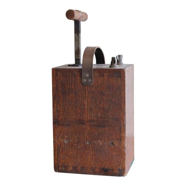 Vintage Dynamite Detonator For Sale