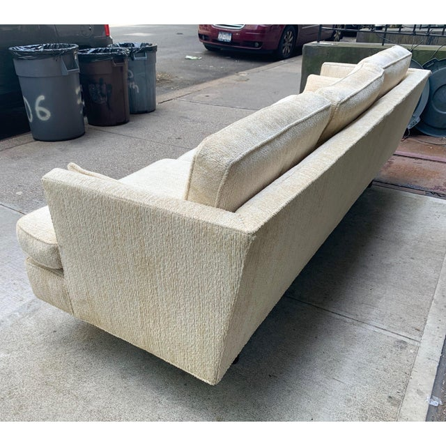 Edward Wormley Three Seat Sofa for Dunbar For Sale - Image 9 of 10