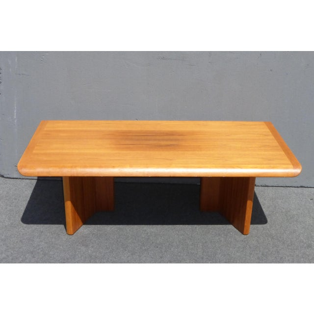 Vintage Danish Modern Teak Coffee Table Made in Canada by ...
