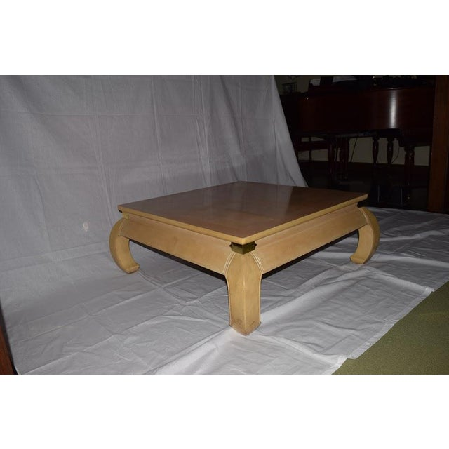 Metal Asian Coffee Table For Sale - Image 7 of 7