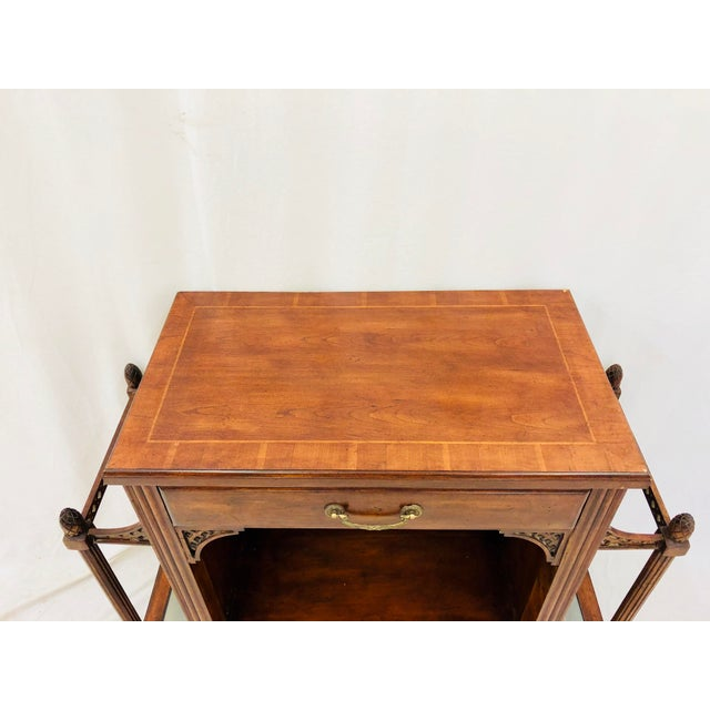 Vintage Entry Way Table For Sale - Image 10 of 12