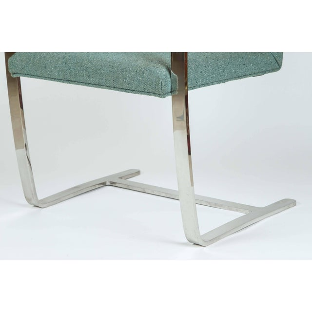 Bauhaus Vintage Mid Century Mies Van Der Rohe Brno for Knoll Chair- a Pair For Sale - Image 3 of 10
