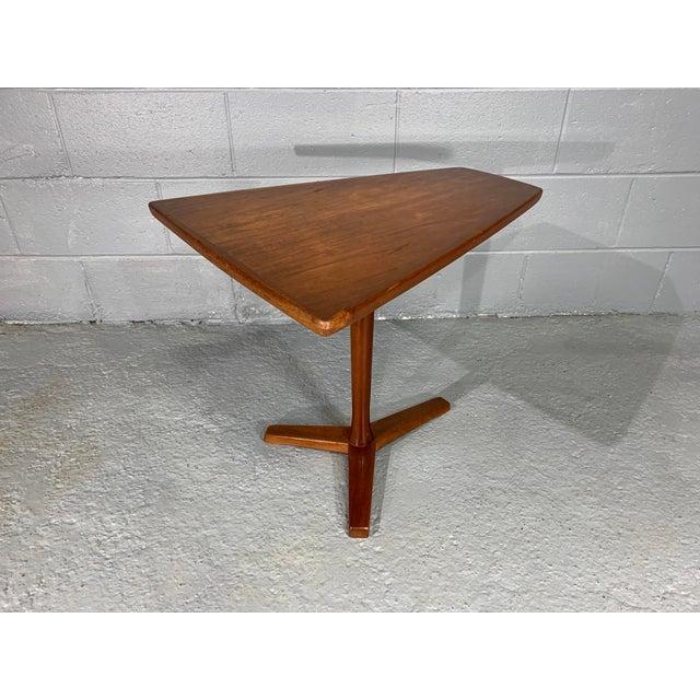 1960s Mid-Century Swedish Modern Dux Teak Side Table For Sale - Image 9 of 13