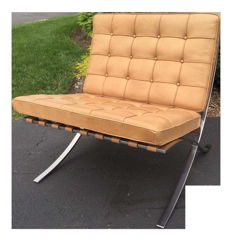 Mies Van Der Rohe For Knoll International Barcelona Chair, 1929
