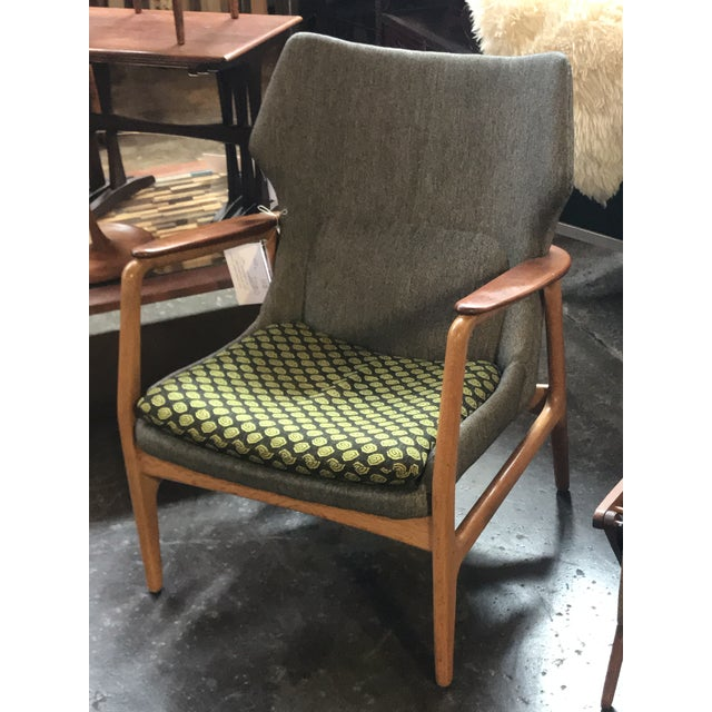 1960s Bender Madsen Danish Modern Lounge Chair For Sale - Image 5 of 5