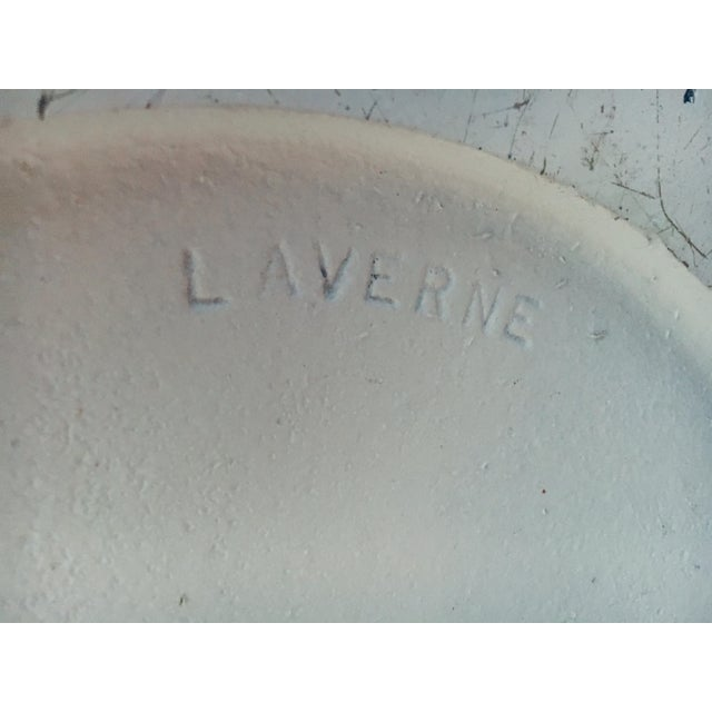 """Metal Estelle & Ervin Laverne Planter 89"""" Tall 1960 Mis Century Modern For Sale - Image 7 of 8"""