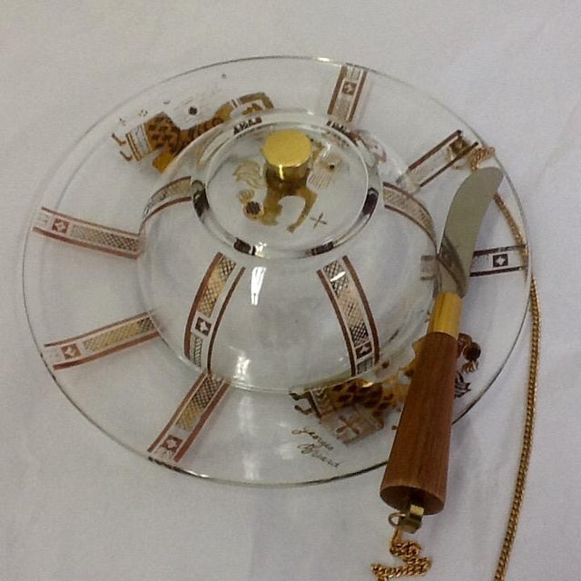 Georges Briard Domed Cheese Set - Image 3 of 6